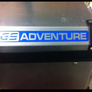 GS ADVENTURE TOP BOX 2 PART REFLECTIVE KIT-0