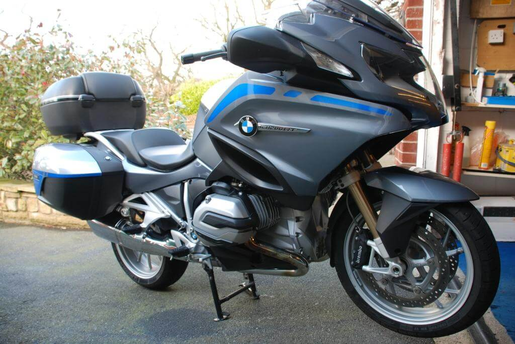 REFLECTIVE LIQUID COOLED R1200RT FAIRING AND PANNIER KIT-0