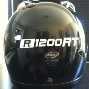 R1200RT REFLECTIVE HELMET STICKER-0