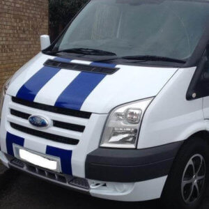 FORD TRANSIT BONNET STRIPES-0
