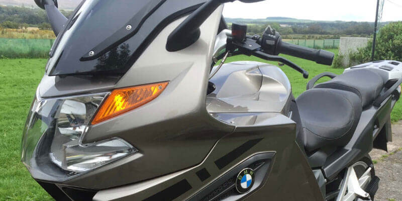 REFLECTIVE & NON REFLECTIVE K1300GT FAIRING AND PANNIER KIT